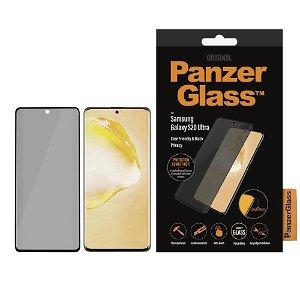 PanzerGlass Privacy Samsung Galaxy S20 Ultra Panserglas Sort - Case Friendly