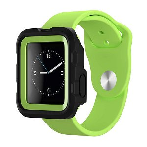 Apple Watch (42mm) Griffin Survivor Tactical Cover - Sort / Grøn