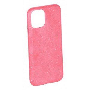Vivanco Go Green iPhone 12 Mini Cover - 100% Miljøvenligt & Kompost Venligt - Lyserød