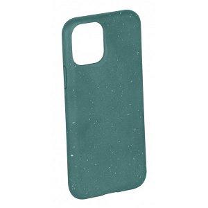 Vivanco Go Green iPhone 12 Mini Cover - 100% Miljøvenligt & Kompost Venligt - Grøn
