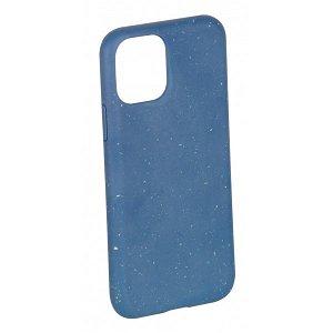 Vivanco Go Green iPhone 12 / 12 Pro Cover - 100% Miljøvenligt & Kompost Venligt - Blå