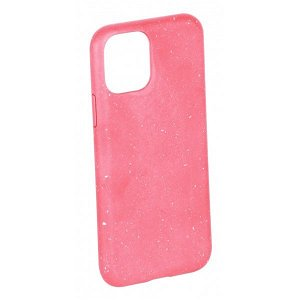 Vivanco Go Green iPhone 12 / 12 Pro Cover - 100% Miljøvenligt & Kompost Venligt - Lyserød