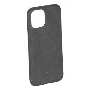 Vivanco Go Green iPhone 12 / 12 Pro Cover - 100% Miljøvenligt & Kompost Venligt - Sort
