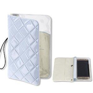 4smarts RIMINI Waterproof Vandtæt Etui - Hvid (Maks. Mobil: 160 x 80 x 10 mm)