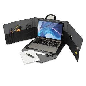 4smarts Laptop Bag Mobil Office m. Privacy Mode - Grå