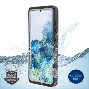4Smarts Active Pro STARK - Samsung Galaxy S20 Vandtæt Cover - Sort