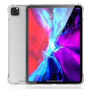 "iPad Pro 12.9"" (2020 / 2018) 4smarts Premium Clear Hybrid Case - Gennemsigtig"