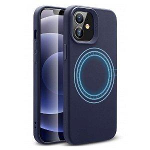iPhone 12 Pro Mini ESR Cloud HaloLock MagSafe Cover - Midnight Blue