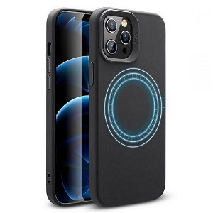 iPhone 12 / 12 Pro ESR MagSafe Kompatibel Cloud HaloLock Case  - Sort
