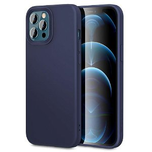 iPhone 12 Pro Max ESR Cloud Silikone Cover - Blå
