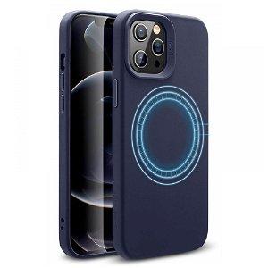 iPhone 12 Pro Max ESR Cloud HaloLock MagSafe Cover - Midnight Blue