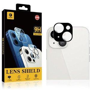 iPhone 13 MOCOLO Beskyttelsesglas til Bagside Kameralinse - Case Friendly - Sort