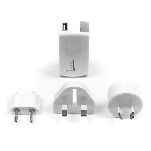 Targus 2-in-1 Travel USB Wall Charger & Power Bank m. USB-A (Rejseoplader)