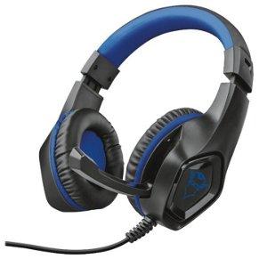 Trust Gaming GXT 404B Over-Ear Gaming Headset - Sort / Blå
