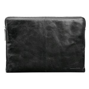 dbramante1928 Skagen Pro Ægte Læder Sleeve Til MacBook Air 13 / Pro 13 - Black