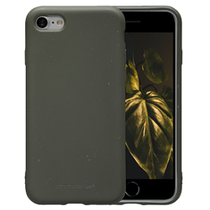 dbramante1928 Grenen iPhone SE (2020) / 8 / 7 Miljøvenligt Plastik Cover - Dark Olive Green