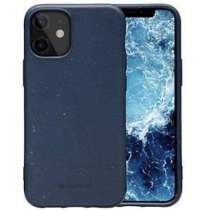 dbramante1928 Grenen iPhone 12 Mini Miljøvenligt Plastik Cover - Ocean Blue