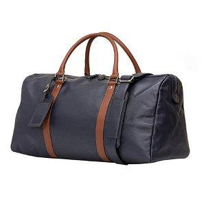 dbramante1928 Kastrup Weekend Bag i Ægte Læder - Pebbled Blue