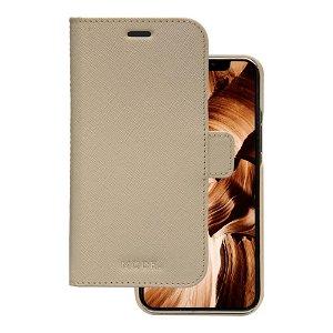iPhone 12 / 12 Pro dbramante1928 Mode New York Ægte Læder Cover m. Pung - Sahara Sand