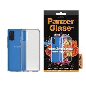 PanzerGlass ClearCase Samsung Galaxy S20 Cover m. Glasbagside - Gennemsigtig