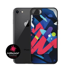 iPhone SE (2020) / 8 / 7 Cover PanzerGlass MikaelB Limited Artist Edition ClearCase Antibakteriel