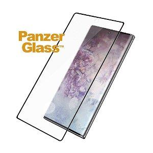 Samsung Galaxy Note10+ (Plus) PanzerGlass Curved Glass Skærmbeskyttelse - Fingerprint & Case Friendly - Sort