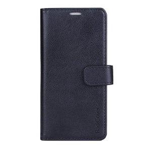 RadiCover 2-in-1 - Samsung Galaxy S21 - Kunst Læder Cover - 86% Strålingsbeskyttelse - Sort