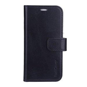 iPhone 13 Mini RadiCover - Kunst Læder Cover - 86% Strålingsbeskyttelse - Sort