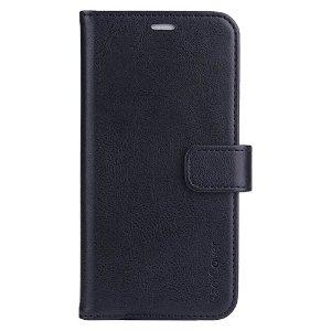 RadiCover 2-in-1 - iPhone 13 - Kunst Læder Flip Case - 86% Strålingsbeskyttelse - Sort