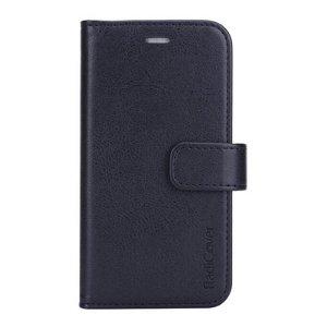 RadiCover - iPhone 12 Mini - Kunst Læder Cover - 86% Strålingsbeskyttelse - Sort