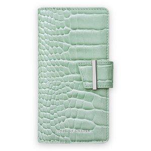 iPhone SE (2020) / 8 / 7 / 6 / 6S iDeal Of Sweden Cora Phone Wallet Case - Mint Croco