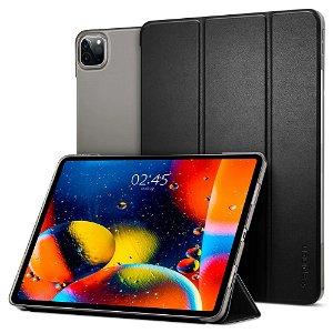 """iPad Pro 12.9"""" (2021 / 2020) / (2018) - Spigen Smart Fold Cover - Sort"""
