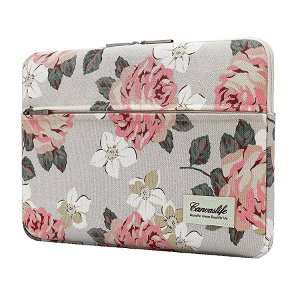 "Canvaslife MacBook 15"" / PC 15-16"" Sleeve - White Rose"