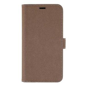 iPhone 12 / 12 Pro GEAR Onsala Eco Flip Case med Pung - Nedbrydeligt - Brun