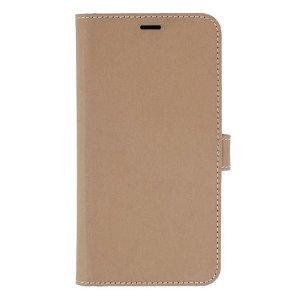 iPhone 12 / 12 Pro GEAR Onsala Eco Flip Case med Pung - Nedbrydeligt - Sand