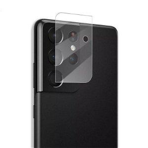 Samsung Galaxy S21 Ultra Mocolo Beskyttelsesglas til Kameralinse - Gennemsigtig