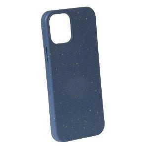 Vivanco Go Green iPhone 12 Mini Cover - 100% Miljøvenligt & Kompost Venligt - Blå