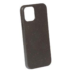 Vivanco Go Green iPhone 12 Mini Cover - 100% Miljøvenligt & Kompost Venligt - Sort