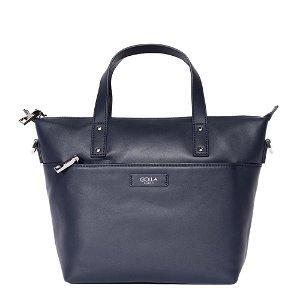 Golla Handbag Carina Læder Navy