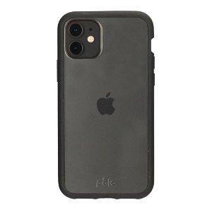 Pela Clear Miljøvenligt 100% Nedbrydeligt Cover Til iPhone 11 - Sort