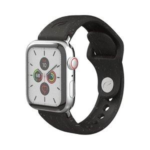 Pela Miljøvenligt & 100% Plantebaseret Apple Watch (38-41mm) Rem - Sort