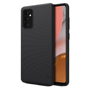 Samsung Galaxy A72 (4G/5G) NILLKIN Frosted Shield Cover - Sort - inkl. Stander