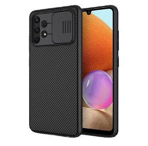 Samsung Galaxy A32 4G Nillkin Camshield Bagside Case - Sort