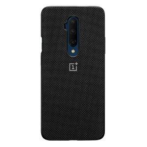 Original OnePlus 7T Pro Cover Nylon Bumper Case - Sort