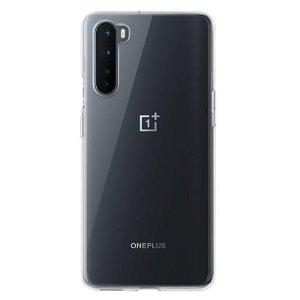 Original OnePlus Nord Clear Bumper Case - Gennemsigtig