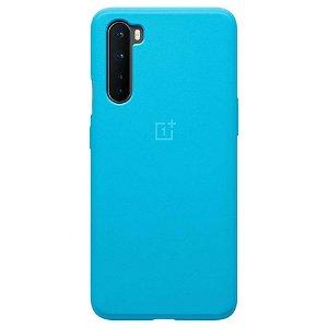 Originalt OnePlus Nord Cover Sandstone Bumper Case - Nord Blue