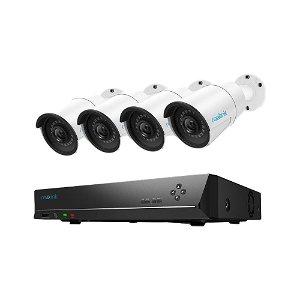 Reolink Surveillance Kit PoE m. 4 x RLK9-510B Kamera & 1 x NVT 2 TB HDD