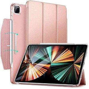 iPad Pro 12.9 (2021 / 2020 / 2018) ESR Ascend Tri-Fold Case - Rose Gold