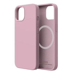 QDOS iPhone 13 Touch Pure SNAP Bagside Cover - MagSafe Kompatibel - Pink