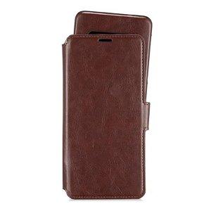 Holdit Samsung Galaxy S20 Ultra Berlin Wallet Magnet Case - Mørkebrun